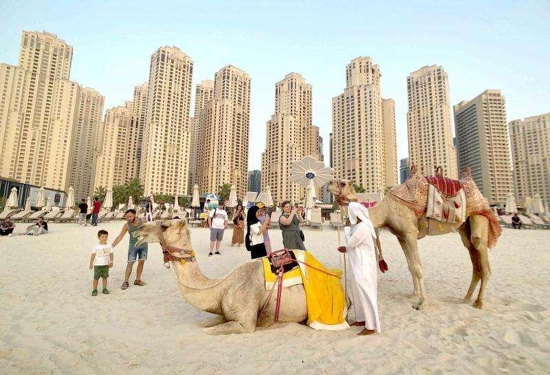 Dubai, tourists