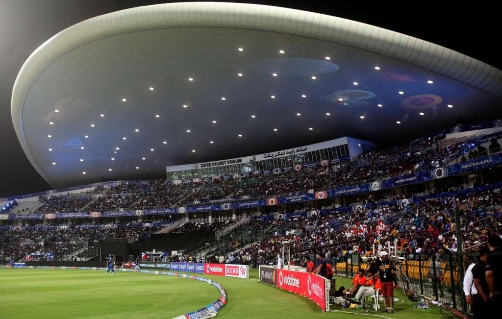 Fans At An UAE Stadium During IPL Photo Credit: (Twitter)
