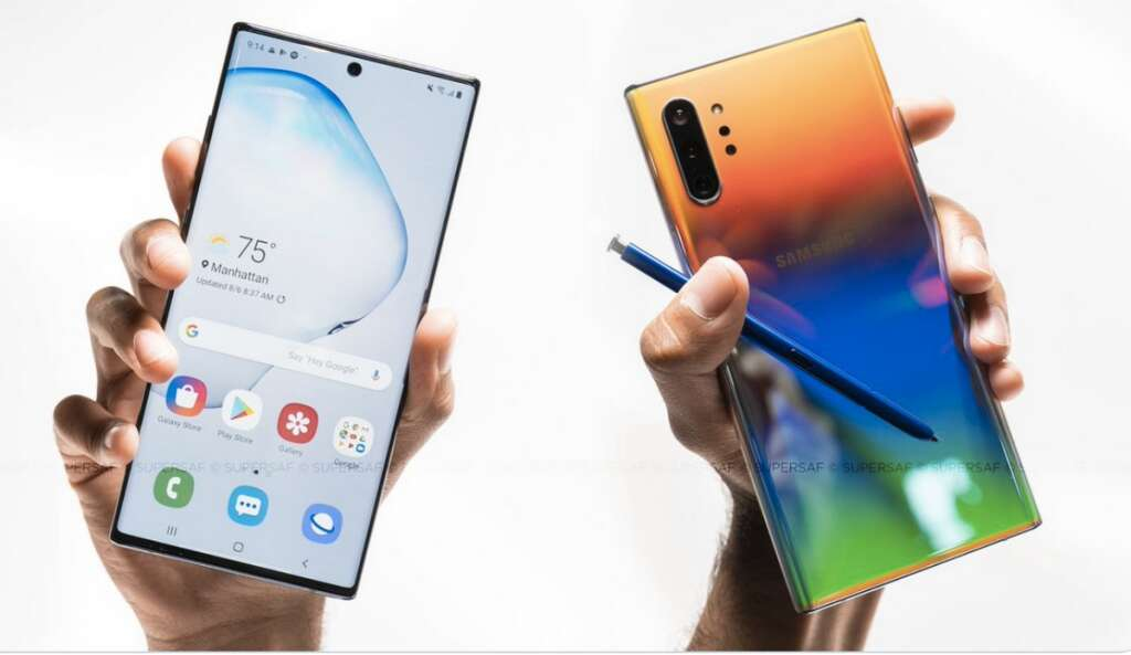 Now, pre-order Samsung Galaxy Note10 for as low as Dh165