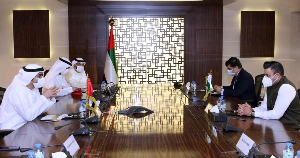 UAE, Pakistan, discussion, labour, Overseas Pakistanis, Sayed Zulfikar Bukhari