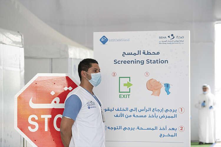 Combating Covid-19, UAE, coronavirus test,