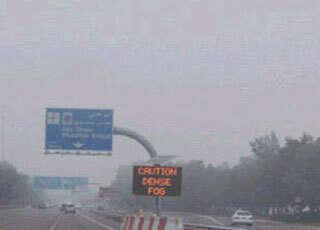 Abu Dhabi highway road crash kills two; several injured