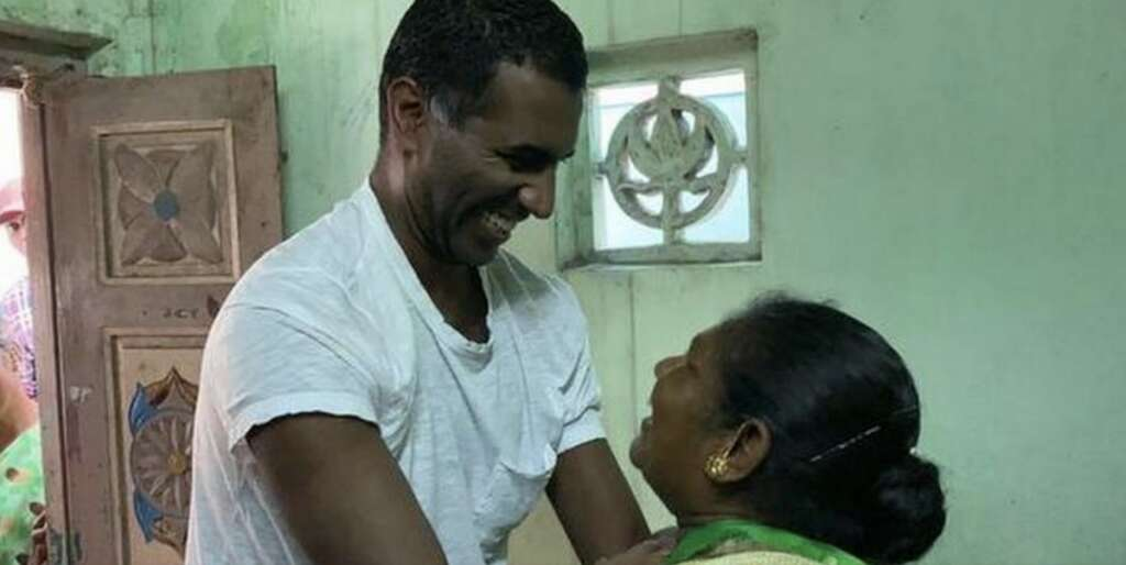 danish man reunites with mother in india