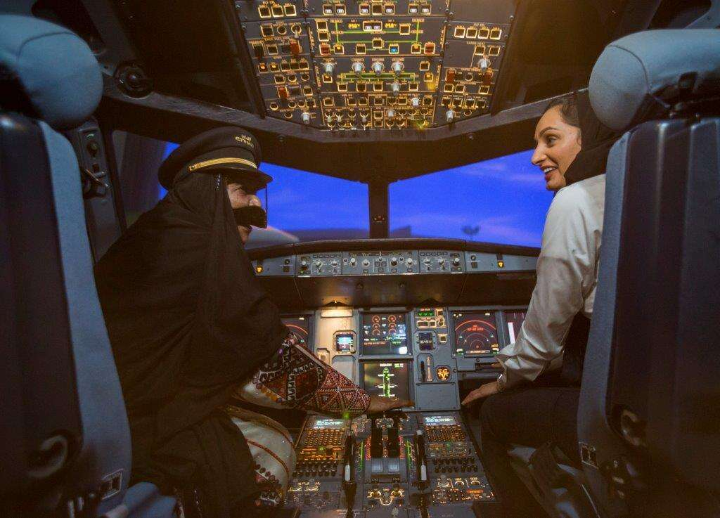 At Etihad, these women fly their dreams