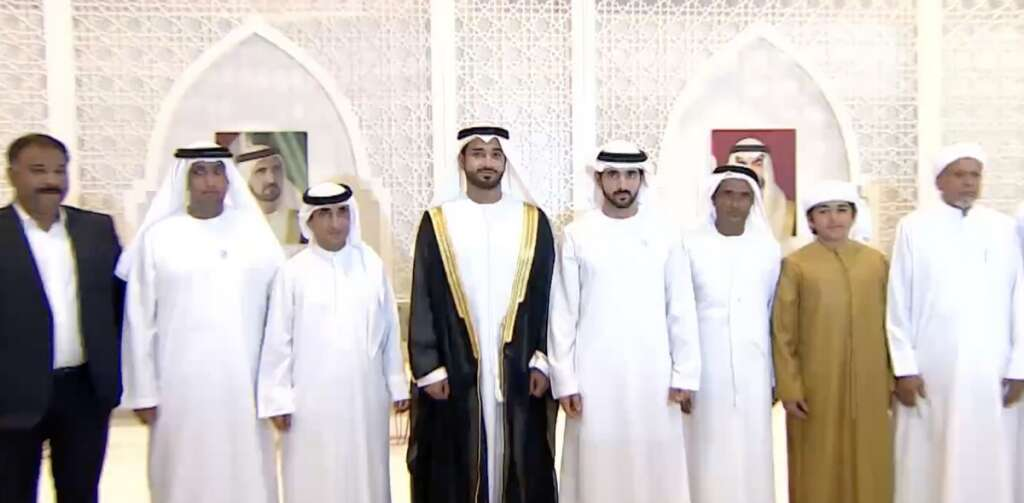 Video: When Sheikh Hamdan attended an Indian expat's son's grand