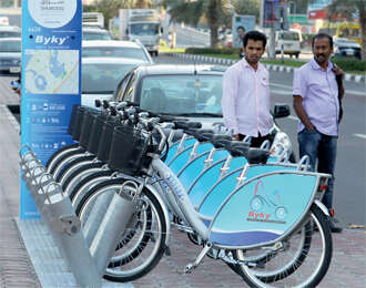Go around Sharjah on cycle for Dh80 as part of Bicycle Sharing programme