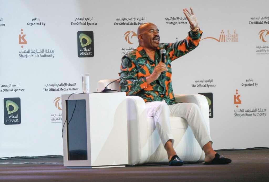 Steve Harvey, SIBF, Sharjah International Book Fair, Sharjah Book Fair