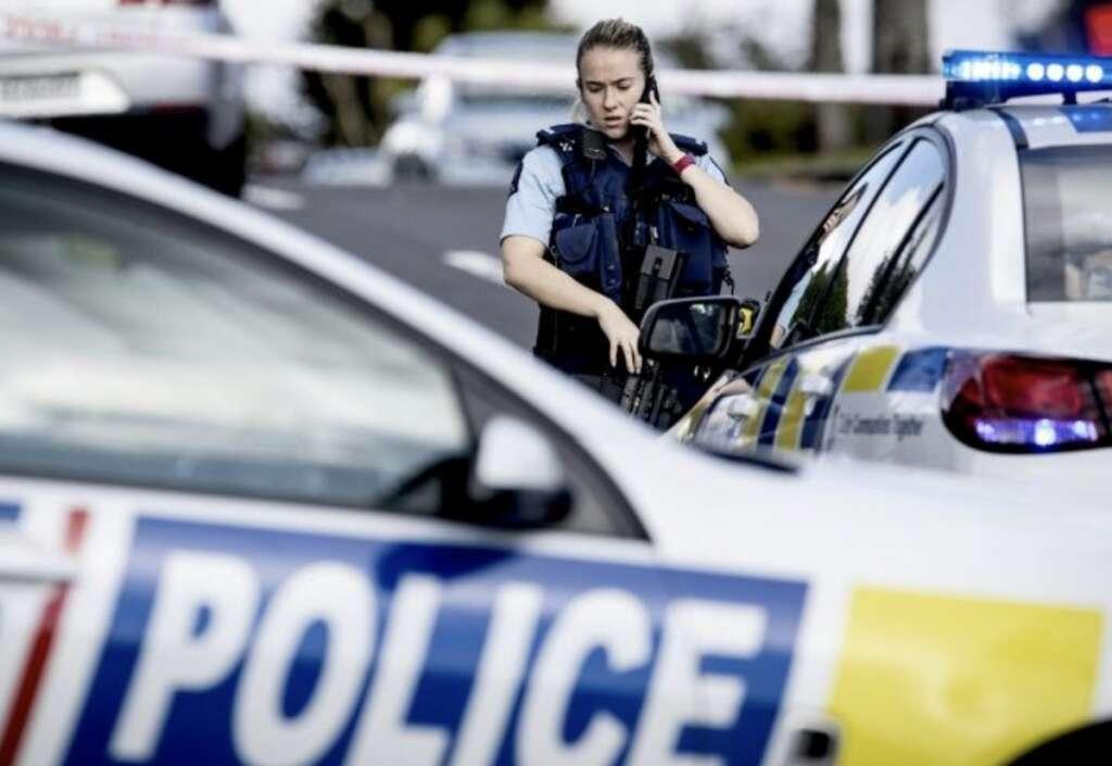 New Zealand police shooting, cop dead