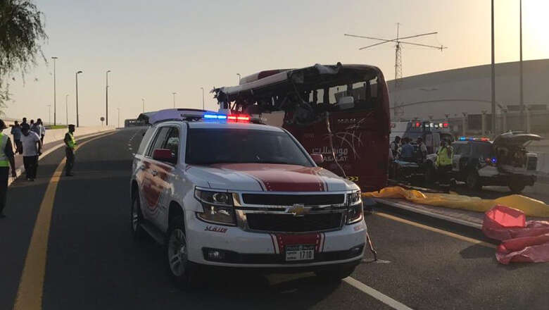 17 killed, 5 injured in horrific bus accident in Dubai