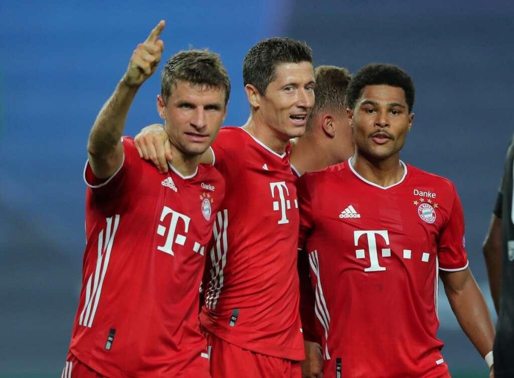 Bayern munich, into, champions league, final, lyon, 3-0, psg, serge gnabry