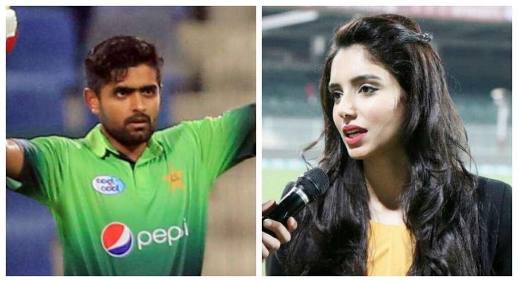 Pakistan batsman Babar Azam slams anchor Zainab Abbas on