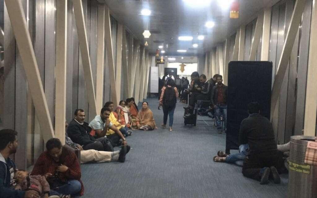 Passengers, IndiGo, Lucknow airport