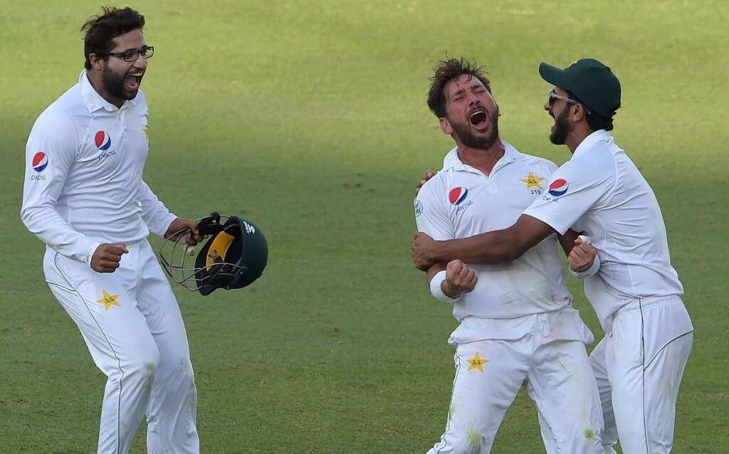 Yasir smashes 82-year-old record as Pakistan eye series win