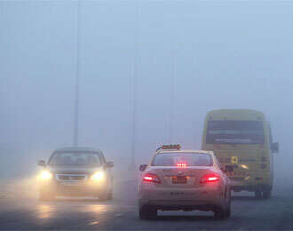 'Avoid using hazard lights during fog'