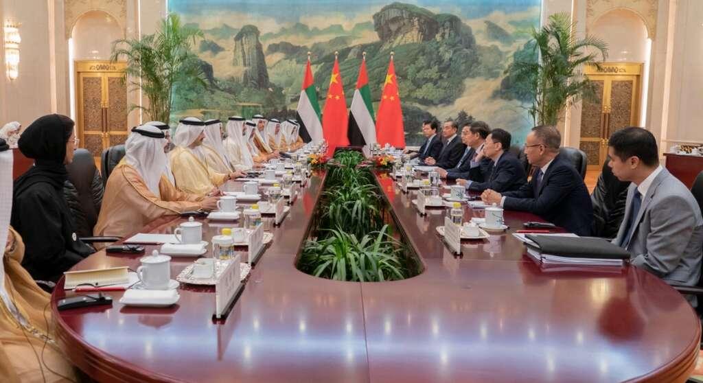 UAE-China Economic Forum, Mohamed bin Zayed, Sheikh Mohamed in China, MBZ China visit, MBZ in China, MoU
