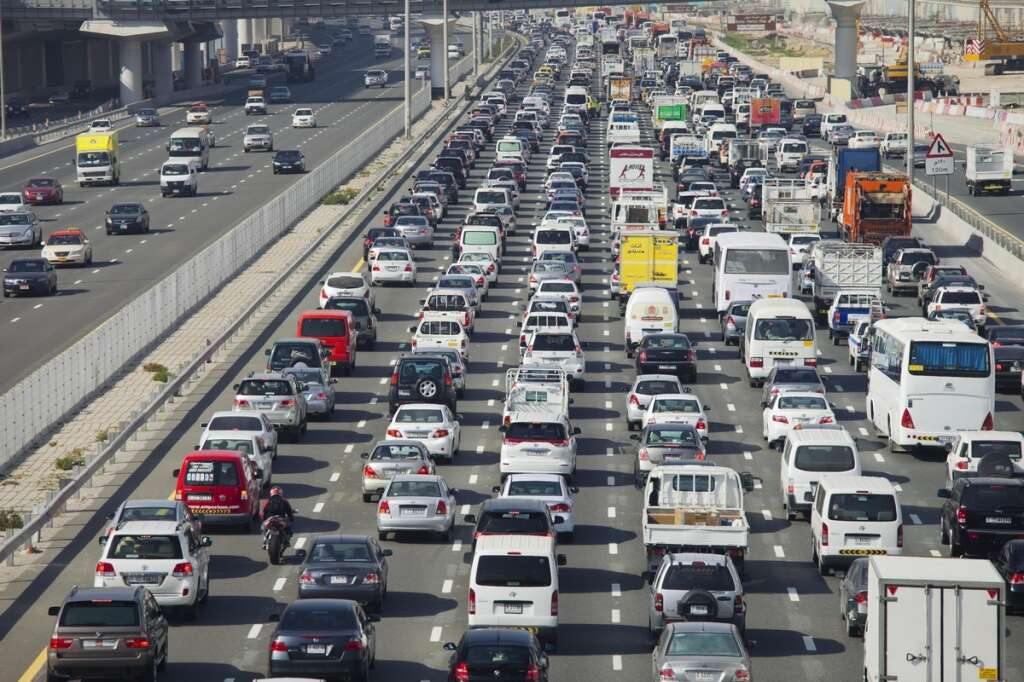 traffic, Dubai, Sharjah roads, Dubai traffic