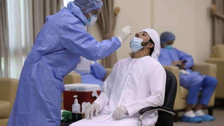 Combating, coronavirus, UAE travellers, Covid-19 test, accredited centre