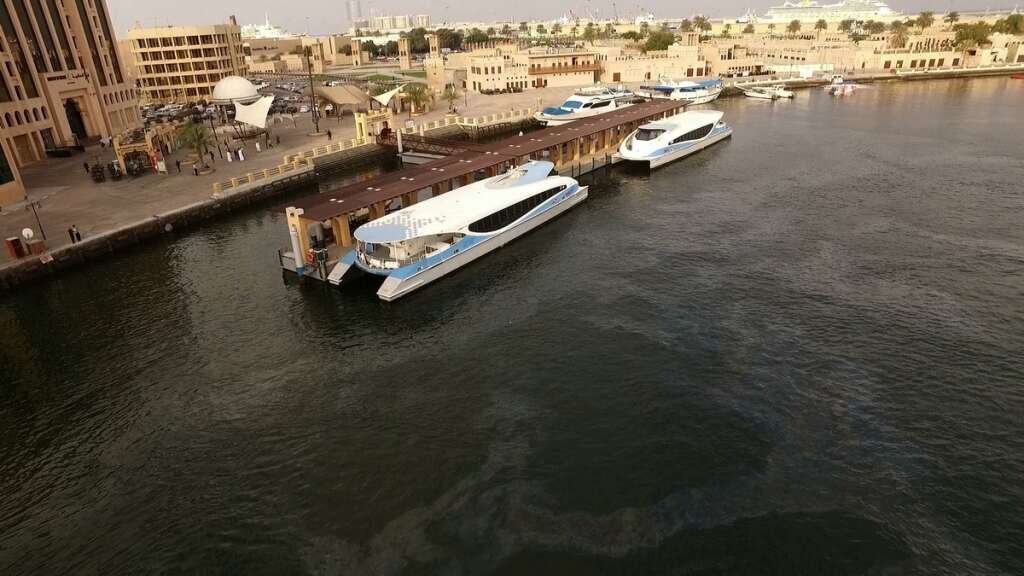 Dubai-Sharjah ferry service, Dubai, sharjah, Al Ghubaiba,  transit time,  Transport Authority, RTA, Dubai sharjah travel time, Dubai Creek, Dubai Marina, water canal