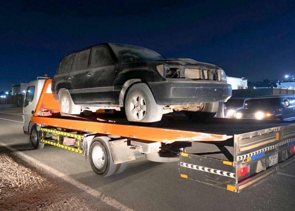 Reckless,road stunts, UAE, fine, traffic fine