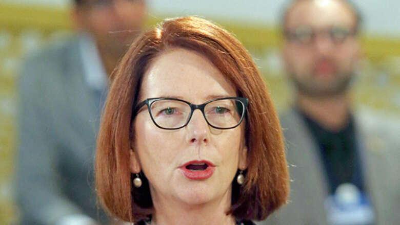 Julia Gillard drives education fund to keep girls in school