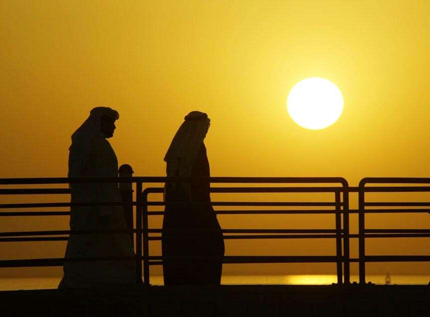 The worlds hottest day was recorded in Kuwait