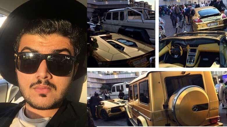 This Super Rich Saudi S Glitzy Gold Cars Will Dazzle You Khaleej Times