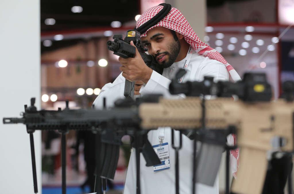 Abu Dhabi ISNR: Guns, pistols and robots attract visitors