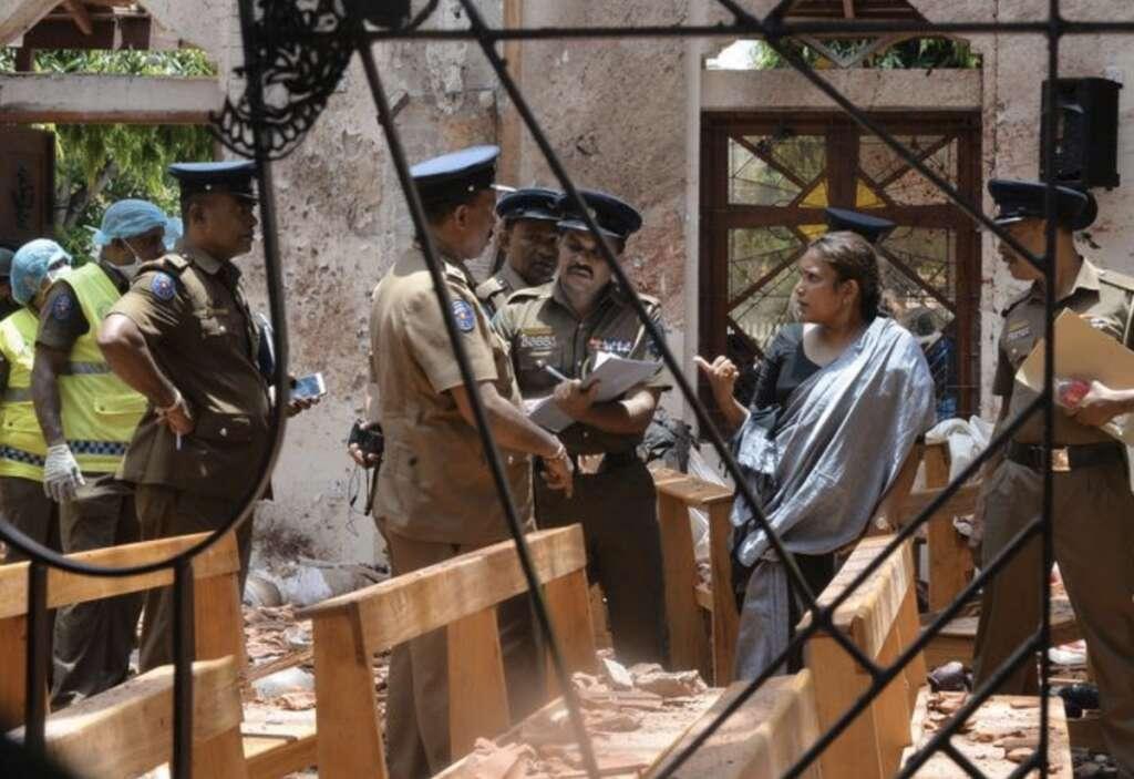 How Sri Lanka attacks unfolded: 20 minutes of carnage