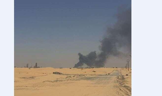 Firefighters douse massive Sharjah scrap blaze