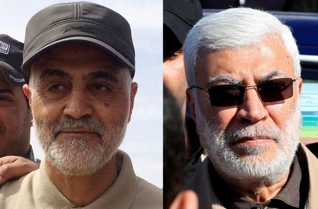 Baghdad, Hashed, Qasem Soleimani, Abu Mahdi Al Muhandis, Hashed Al Shaabi