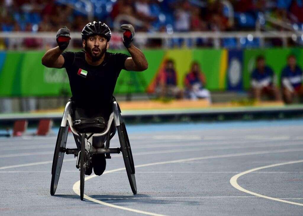 UAE's Al Hammadi stuns world champion to win Paralympics gold
