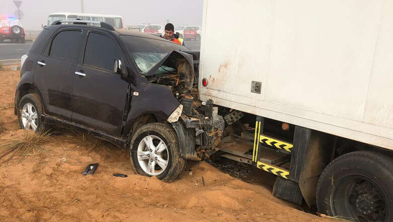 Fog blamed for deadly accident on Emirates Road