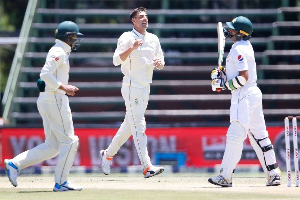 Olivier clinches five as S. Africa surge ahead