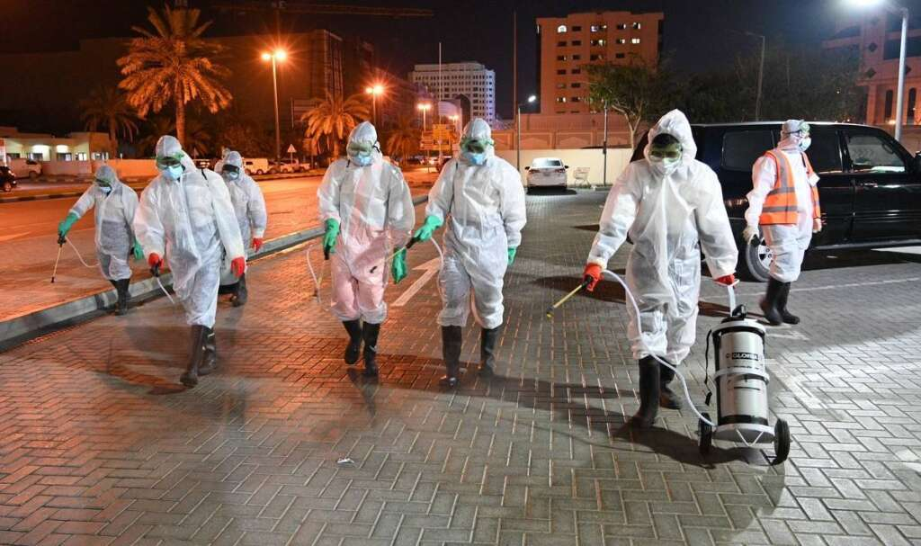 covid-19, coronavirus, national sterilisation programme, sanitisation programme, UAE covid cases increase
