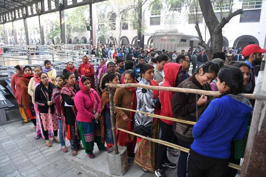Delhi polls, 5.64%, voter, turnout, election, 70 assembly seats, Delhi Assembly seats