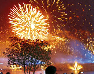 Fireworks extravaganza to mark national day celebrations