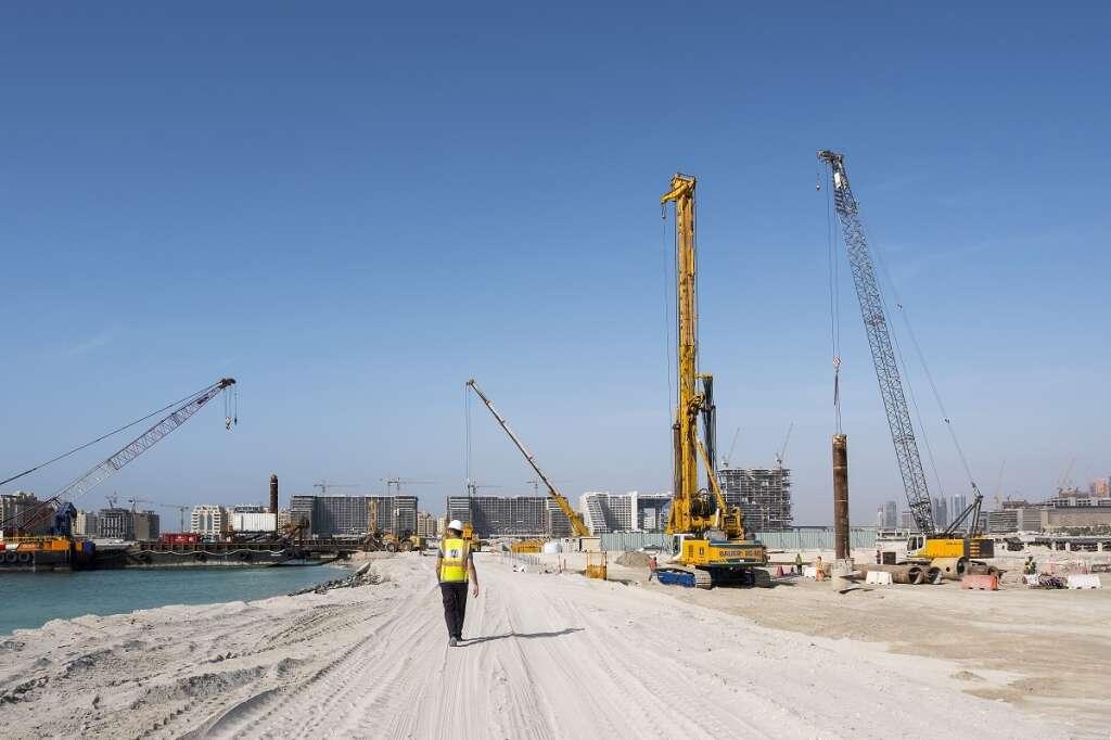 Work begins on Emaar Beachfront