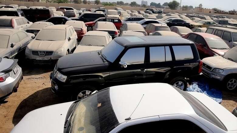 Vehicle impound, Cars, Abu Dhabi, UAE, motorist, flexible,