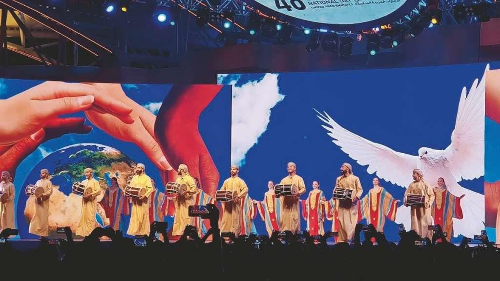 Spectacular displays of pride mark UAEs National Day