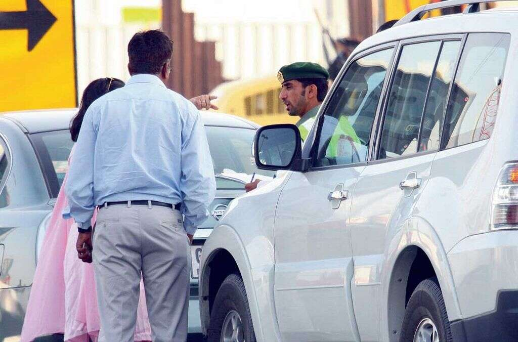 Pay traffic fine before leaving the country - Khaleej Times
