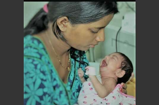 Indian doctors save 25-day-old babyfrom rare flesh-eating infection