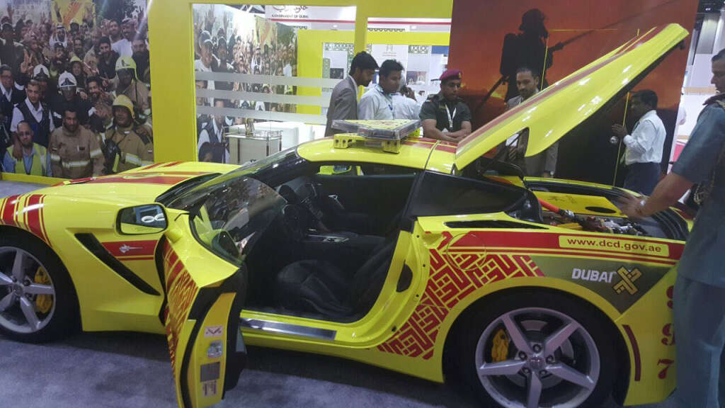 WATCH: Civil Defences fastest car to fight fires in Dubai