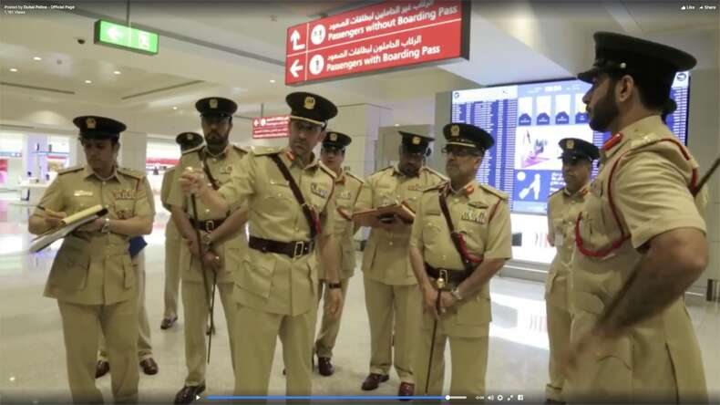 Dubai Police chief Al Marri inspects airports security - News ...