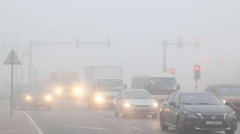 Police, Dubai police, fog, motorists, Abu Dhabi, Truck ban