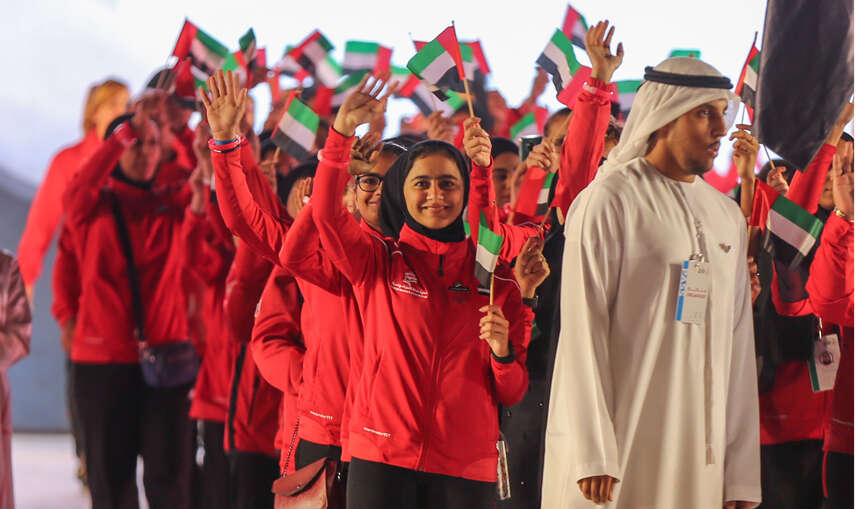Sheikha Jawaher witnesses opening of fifth Arab Women Sports Tournament