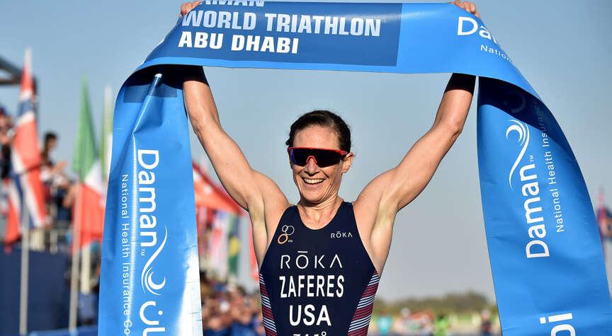 Triathlon top stars Zaferes, Luis gear up to rock Abu Dhabi