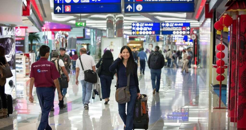 Dubai airport, eye scan, iris scan, retina scan, smart gate, passport, emirates id, smart tunnel, DXB, visa-free travel, passport stamping, dubai immigration, airport immigration