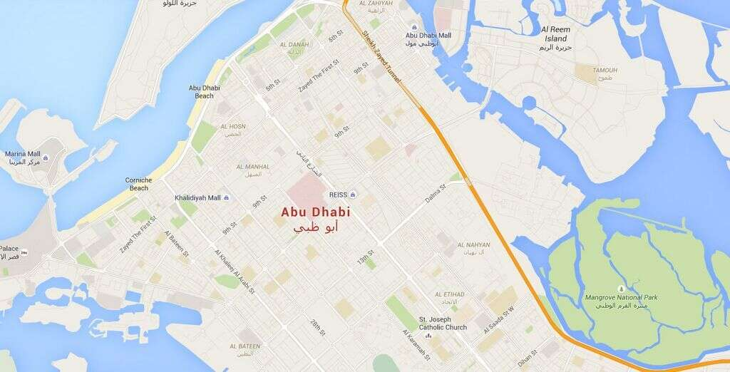 Street route numbers make navigation in Abu Dhabi simpler - Khaleej ...