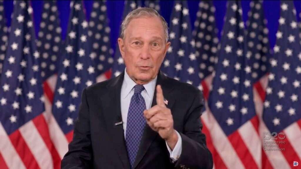 Michael Bloomberg, Biden, $100 million