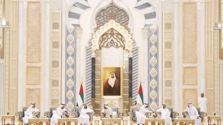 UAE leaders exchange Ramadan greetings